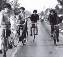 Beatles en bici